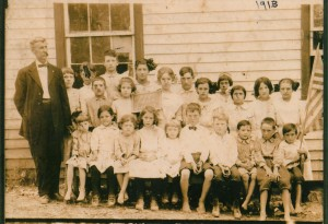 Old New Hope School - 1913